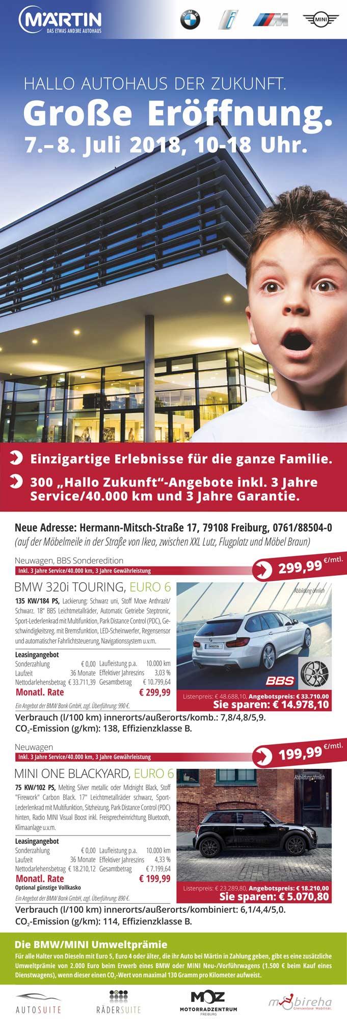 Schilling Graphism.etc. für Autohaus Märtin